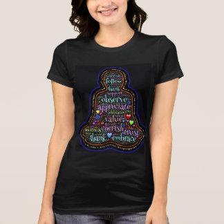 Beobachten Sie und danken Sie T-Shirt