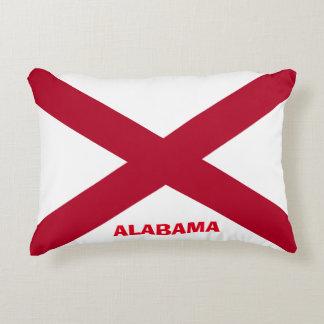 Bequemes Alabama-Flaggen-Kissen Zierkissen