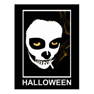 berauschender Tod Halloween Postkarte