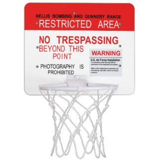 BEREICH 51 Traumland-Minibasketball-Ziel Mini Basketball Netz