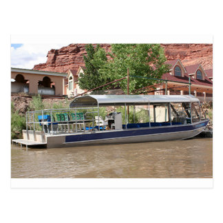 Bereisen Sie Boot, Moab, Utah, USA Postkarte