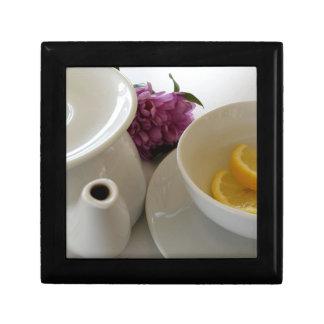 bereiten Sie für Tee vor Geschenkbox