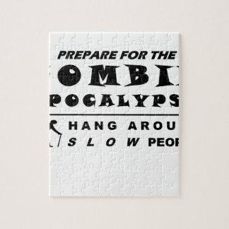Bereiten Sie sich für den Zombie vor Puzzle