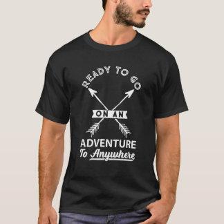 Bereiten Sie vor, um auf einen T-Shirt