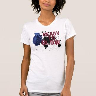 Bereiten Sie vor, um durchzubrennen T-Shirt