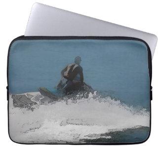 Bereiten Sie vor, um Wellen zu machen - Laptop Sleeve