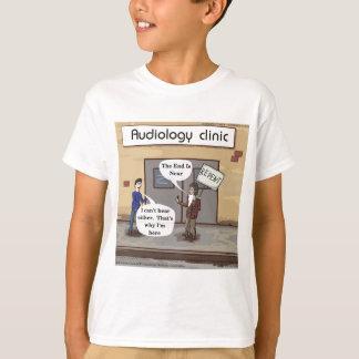 Bereuen Sie für das lustige Audiologe-Büro T-Shirt