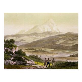 Berg Cayambe, Ecuador, von 'Le Costume Ancien und Postkarte