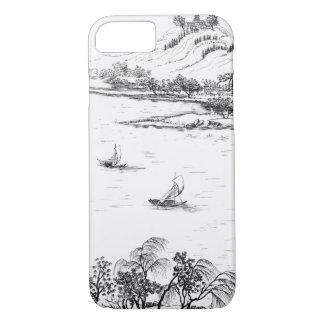 Berg Chang und See Chou, von 'Jardins Anglo-Chi iPhone 8/7 Hülle