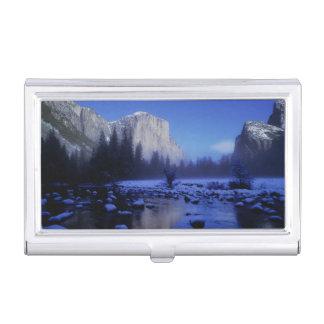 Berg EL Capitan, Yosemite Nationalpark, Visitenkarten Etui