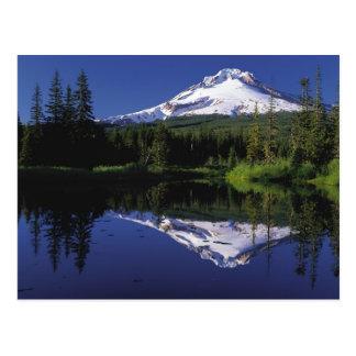 Berg-Haube, Oregon-Postkarte Postkarte