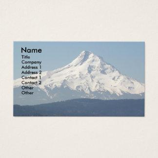 Berg-Hauben-Foto Visitenkarte