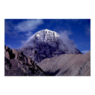 Berg Kailas, Tibet Poster