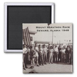 Berg Marathon-1948 Quadratischer Magnet