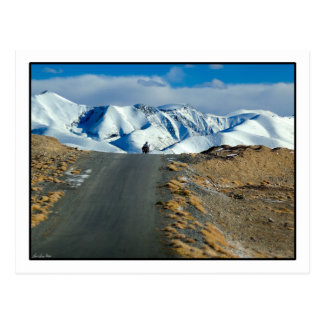 Berg Muztagata Postkarte