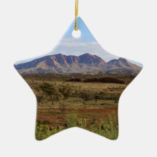 Berg Sonder, zentrales australisches Hinterland Keramik Stern-Ornament