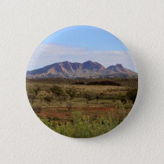 Berg Sonder, zentrales australisches Hinterland Runder Button 5,7 Cm