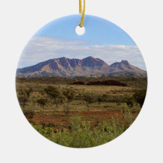 Berg Sonder, zentrales australisches Hinterland Rundes Keramik Ornament
