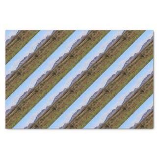Berg Sonder, zentrales australisches Hinterland Seidenpapier