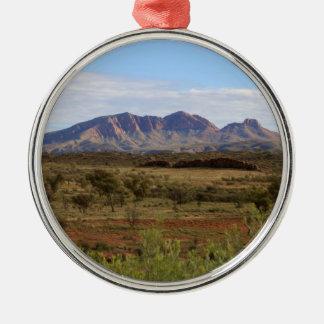Berg Sonder, zentrales australisches Hinterland Silbernes Ornament