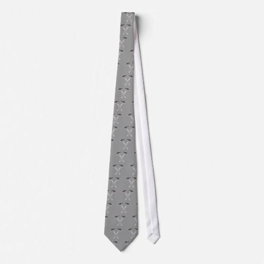 Bergbau mining Symbol Individuelle Krawatten