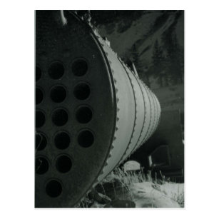 Bergbau Tank5 Postkarte