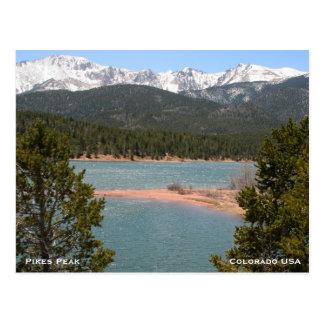Berge in Colorado Postkarte