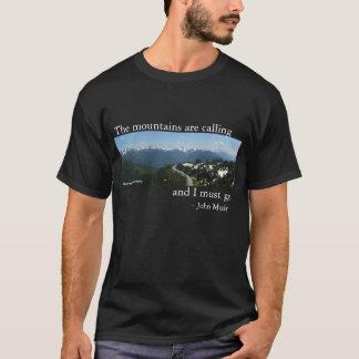 Berge nennen - Dunkelheit T-Shirt