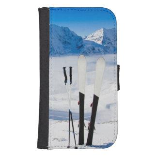 Berge und Skiausrüstung Galaxy S4 Portmonees