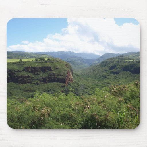 Berge von Hawaii Mousepads