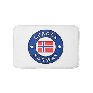 Bergen Norwegen Badematte