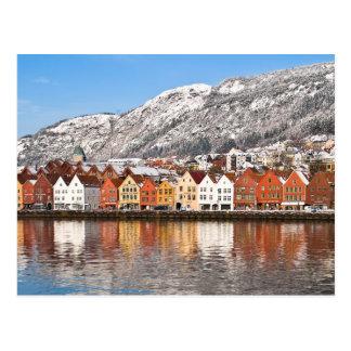 Bergen Postkarte