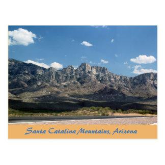 Bergesankt Catalina Tuscon Arizona Postkarte