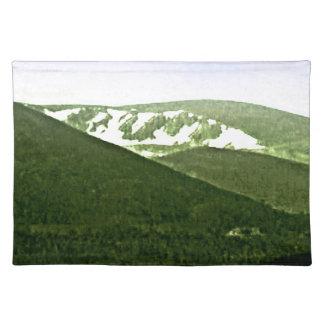 Bergesnap-36466a3 Schottlands Cairngorm jGibney Stofftischset