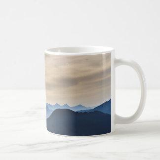 Berggipfel Kaffeetasse