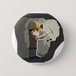 Bergmann Runder Button 5,7 Cm