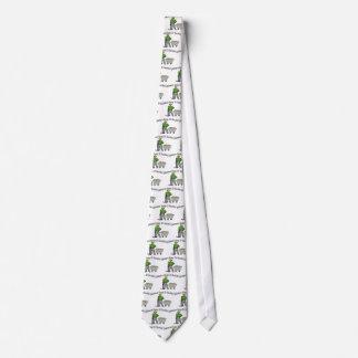 Bergmänner behalten es Rockin Krawatte