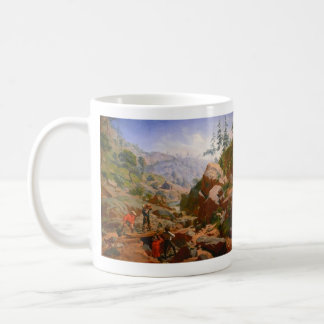 Bergmänner in den Sierra - 1851/1852 Kaffeetasse