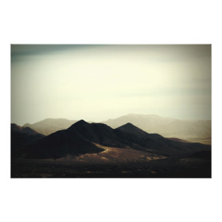 Bergspitzen Fotodruck