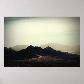 Bergspitzen Poster