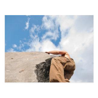 Bergsteiger-Perspektive Postkarte