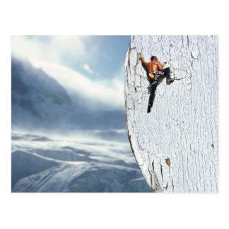 Bergsteiger-Postkarte Postkarte