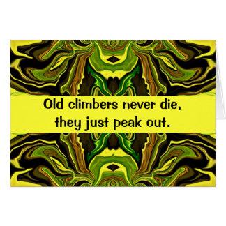 Bergsteiger-Spaß Karte