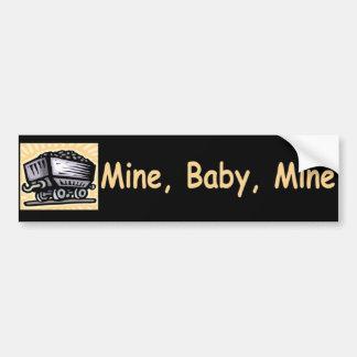 Bergwerk-Baby-Bergwerk-Autoaufkleber Autoaufkleber
