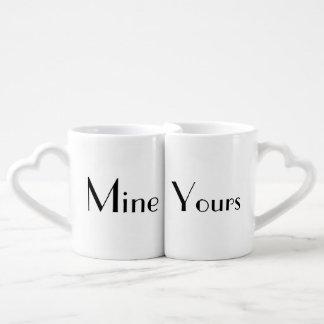 Bergwerk u. Ihr Tassen-Set Liebestassen