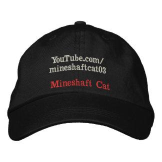 Bergwerksschacht-Katzen-täglicher Hut mit Namen