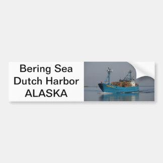 Bering-Meer, Krabben-Boot im niederländischen Autoaufkleber