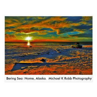 Bering-Seeküste. Nome, Alaska Postkarten