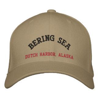 Bering-Seeniederländischer Hafen, Alaska Bestickte Baseballkappe