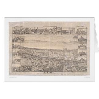 Berkeley, panoramische Karte 1891 (0099A) - Unruhe
